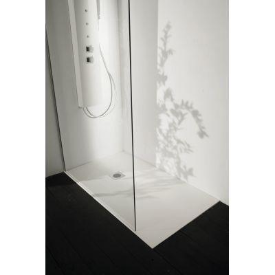 Piatto doccia resina Liso 170 x 80 cm bianco: prezzi e offerte online