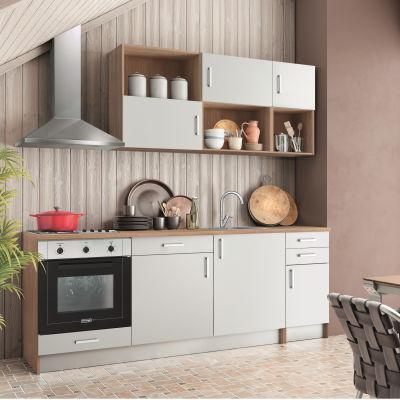 Cucina One bianco L 220 cm: prezzi e offerte online