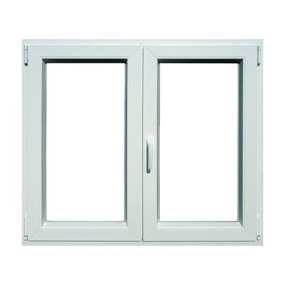 Finestra PVC bianco L 140 x H 120 cm: prezzi e offerte online