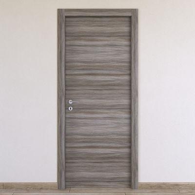 Porta da interno battente Cover palissandro grigio 80 x H 210 cm ...