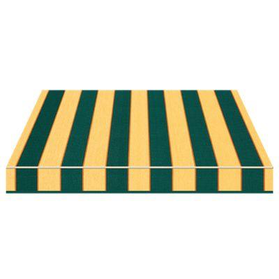 Tenda da sole a bracci Tempotest Parà 350 x 210 cm verde/giallo ...