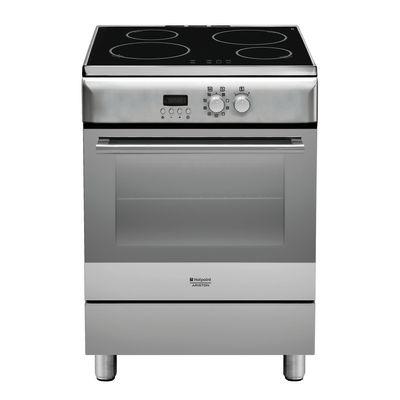 Cucina freestanding elettronica sottomanopola Hotpoint H6IMAAC (X ...