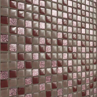 Piastrelle Mosaico Bagno Leroy Merlin. Piastrelle Grigie Con Tocchi ...