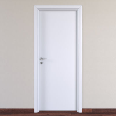 Porta da interno battente pearl bianco 80 x h 210 cm for Porte interne leroy merlin