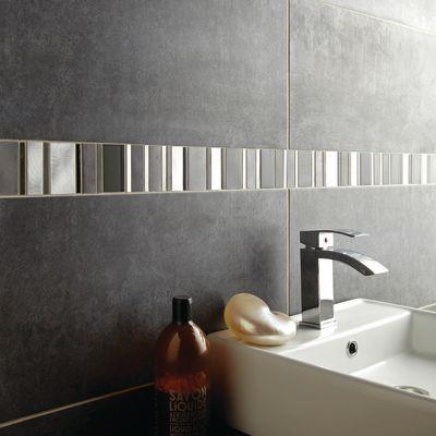 Mosaico Glass aluminum 30 x 30 cm argento: prezzi e offerte online