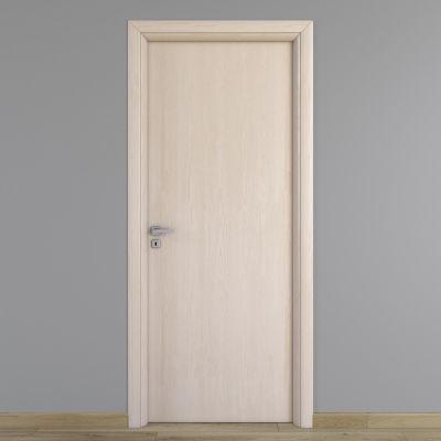 Porta da interno battente notting hill pino sbiancato 90 x h 210 cm reversibile prezzi e - Porte interno leroy merlin ...