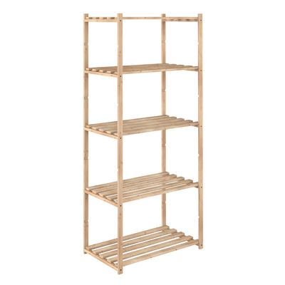 Scaffale legno 5 ripiani L 65 x P 40 x H 171 cm: prezzi e offerte online