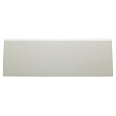 Falegnameria E Edilizia Battiscopa Carta Finish Rivestito Bianco 15 X 70 X  2400 Mm