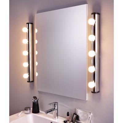 Luce da specchio Liz cromo 63 cm IP21: prezzi e offerte online