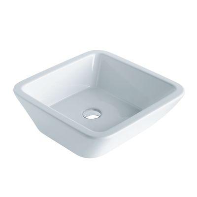 Lavabo da appoggio quadrato ø 45 x 16 cm: prezzi e offerte online