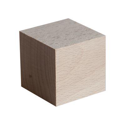 Cubo faggio grezzo naturale 90 x 90 x 90 mm: prezzi e offerte online