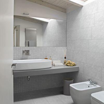 Bagno Piastrella Bernay 30 X 60 Cm Argento 35742833_thumb