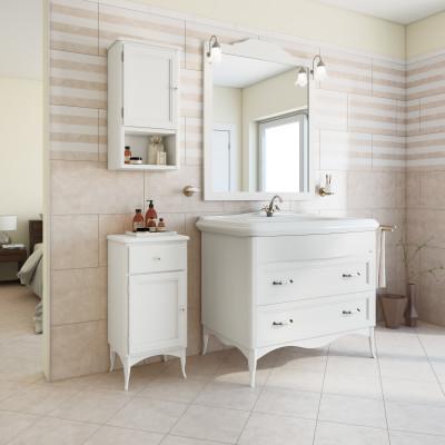 mobili bagno torino mobile bagno daiana bianco l 111 cm prezzi e offerte online