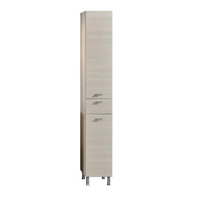 Colonna rimini larice 2 ante 1 cassetto l 30 x h 195 x p 34 cm prezzi e offerte online - Bagno 30 rimini ...