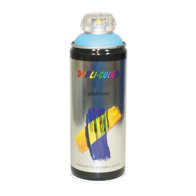 Smalto spray a solvente platinum azzurro beb satinato 400 for Spray sanificante per condizionatori leroy merlin
