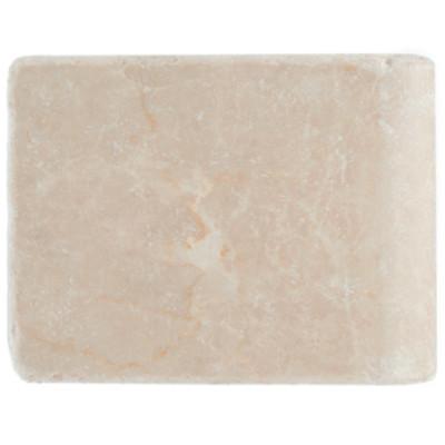 Piastrella con bordo marmo botticino avorio 10 x 13 cm - La piastrella 97 ...