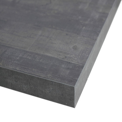 Piano cucina su misura laminato kaos grigio 2 cm prezzi e offerte online - Piano cucina laminato ...