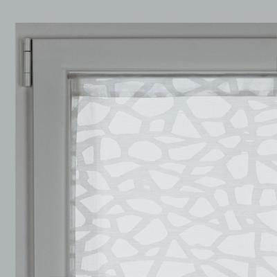 Tendina a vetro per porta finestra Cedre bianco 60 x 240 cm: prezzi e offerte online