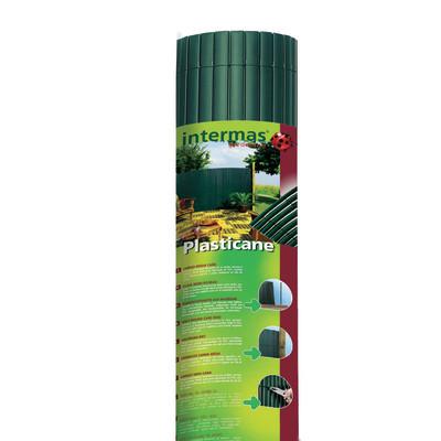 Cannicciato sintetico plasticane verde l 5 x h 2 m prezzi for Leroy merlin prato sintetico