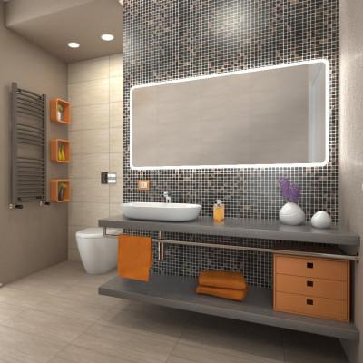 Mosaico gold 30 x 30 multicolor prezzi e offerte online - Mosaico bagno leroy merlin ...