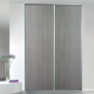 Kit 2 ante seattle rovere grigio l 120 x h 270 cm prezzi e offerte online - Porte rovere grigio ...