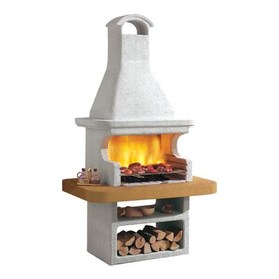 Barbecue in muratura con cappa portorose prezzi e offerte for Barbecue leroy merlin