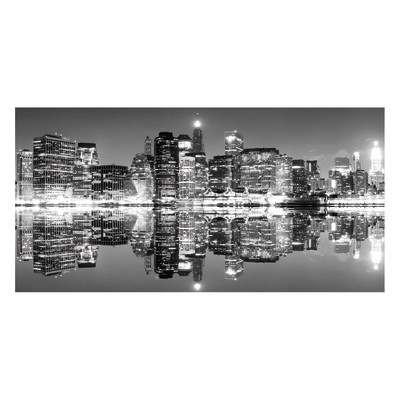 Stampa su tela ny skyline 50x100 prezzi e offerte online - Canvas tuin leroy merlin ...