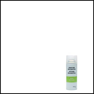 Smalto spray a solvente trasparente satinato 400 ml for Spray sanificante per condizionatori leroy merlin