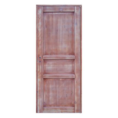 Porta da interno battente old town teak sbiancato 70 x h 210 cm reversibile prezzi e offerte online - Offerte porte da interno ...