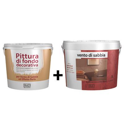 Composizione per effetto decorativo vento di sabbia sahara for Pittura lavabile prezzi leroy merlin