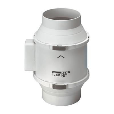 Aspiratore elicocentrifugo td 350 125 125 mm prezzi e for Ventola aspirazione bagno