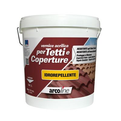 Impermeabilizzante tetti terrazze coperture liquida for Vernice sottosopra leroy merlin