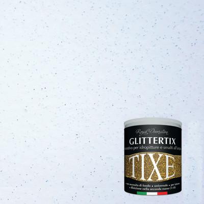 Finitura tixe glittertix blu glitterato 250 ml prezzi e for Pittura glitter leroy merlin