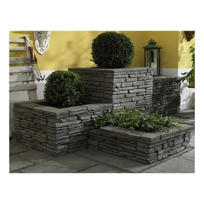 Copertina copertina per elemento muretto blocco z grigio - Muretti per giardino ...