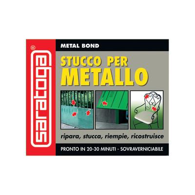 Stucco bicomponente Saratoga per metallo Metal Bond 125 ml: prezzi e offerte online