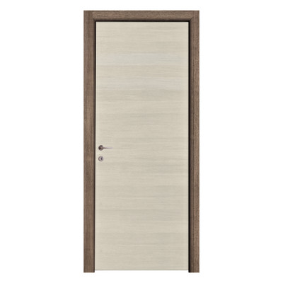 Porta da interno battente mixage brown grano 90 x h 210 cm for Porte interno leroy merlin