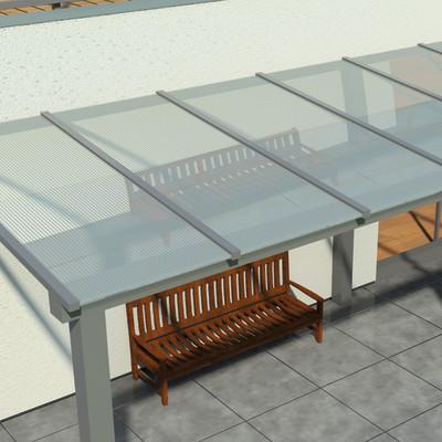 Lastra policarbonato per tettoie verande serre leroy for Policarbonato compatto leroy merlin