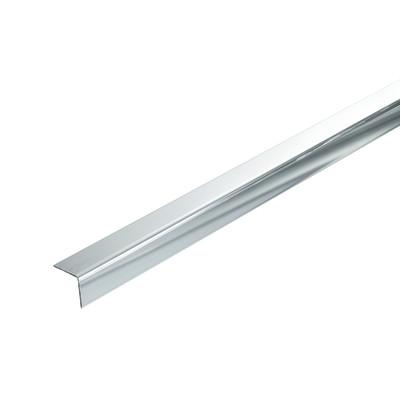 Profilo angolare a l 20 x 20 x 1 mm x 1 m prezzi e for Profili alluminio leroy merlin