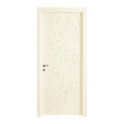 Porta da interno battente flower ivory avorio 80 x h 210 for Porte 83 x 210