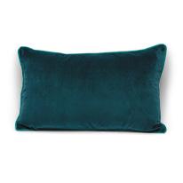 Cuscino Velluto verde 30 x 50 cm