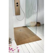Piatto doccia resina Forest 140 x 90 cm cedro