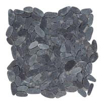 Formella Elisse nero 30 x 30 cm