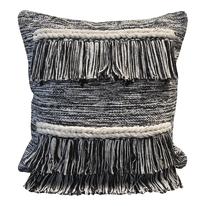 Cuscino Etnico Inspire bianco e nero 45 x 45 cm