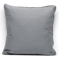 Cuscino grande Ramie grigio 50 x 50 cm