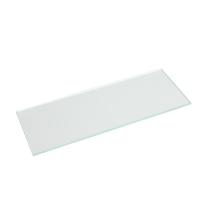 Mensola Spaceo trasparente L 60 x P 15, sp 0,5 cm