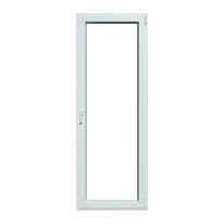 Portafinestra PVC bianco L 80 x H 220 cm dx