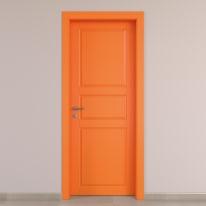 Porta da interno battente New York arancio 70 x H 210 cm dx