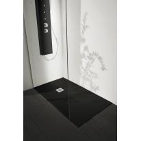 Piatto doccia resina Liso 200 x 80 cm nero