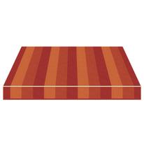 Tenda da sole a caduta cassonata Tempotest Parà 300 x 250 cm marrone/bordeaux/arancione Cod. 966/426
