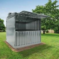 chiosco in metallo Daikiri c/mensola 6,27 m², 1 ribalta